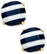 Kate Spade 14k Gold-Plated Nautical Striped Stud Earrings