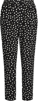 Dolce & Gabbana Slim-leg polka-dot print silk trousers
