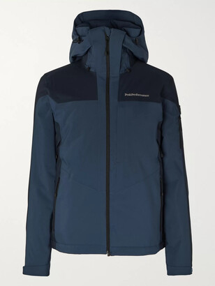 Peak Performance Maroon Race Colour-Block Ski Jacket