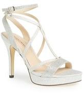 Menbur Women's 'Algar' Glitter Platform Sandal