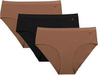 Evelyn & Bobbie Assorted 3-Pack Hipster Panties
