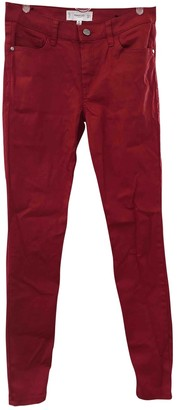 MANGO Red Trousers for Women