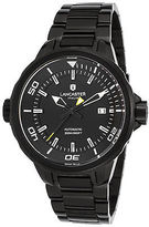 Lancaster Italy OLA1088MB-BK-RS-NR Men's Space Shuttle Automatic Black IP SS
