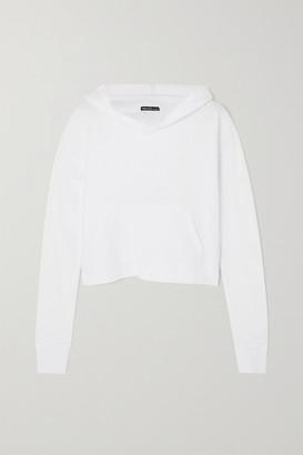 James Perse Supima Cotton-jersey Hoodie - White