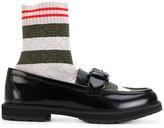 Fendi loafer sock boots