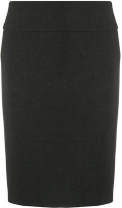 Peserico Mid-Waist Straight Skirt