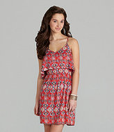 Angie Printed Dress