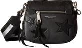 Marc Jacobs Star Patchwork Small Saddle Bag Shoulder Handbags