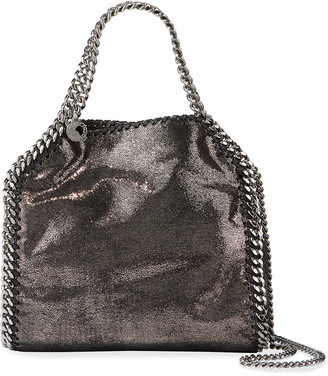 Stella McCartney Mini Falabella Metallic Chain Tote Bag