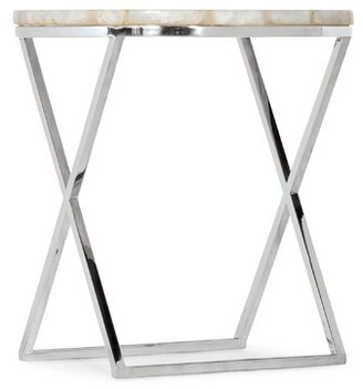 Hooker Furniture Melange Cross Legs End Table