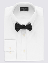 Limited Edition Easy Care Slim Fit Shirt With Bow