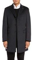 Ted Baker Alaska Trim Fit Wool & Cashmere Overcoat