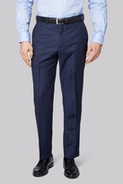 Ermenegildo Zegna Cloth Regular Fit Navy Check Pants