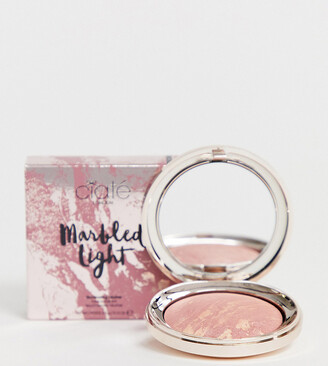 Ciaté London X ASOS EXCLUSIVE Marbled Light Illuminating Blush - Halo