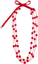 Maria Calderara layered long necklace
