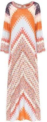 Missoni Stretch-silk knit maxi dress