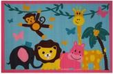 Fun Rugs Fun Time Jungle Party Animal Rug - 3'3'' x 4'10''