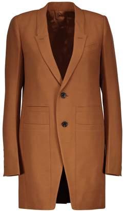 Rick Owens Blended wool blazer