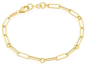 Roberto Coin 18K Yellow Gold Oval-Link Bracelet