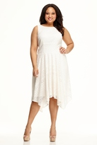 Maggy London Curve Natural A-Line Dress