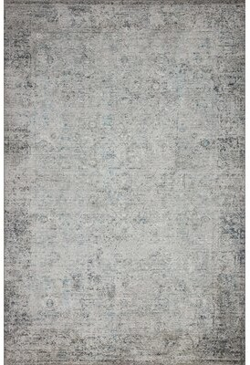 """Loloi Rugs Abstract Ivory Area Rug Rug Size: Rectangle 8'6"""" x 11'6"""""""