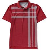 Bobby Jones XH20 Robertson Printed Oversized Plaid Short-Sleeve Polo