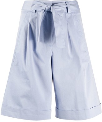 Peserico Belted Tailored Shorts