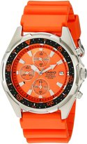 Casio Men's AMW380-4AV Classic Analog Chronograph Resin Band Watch