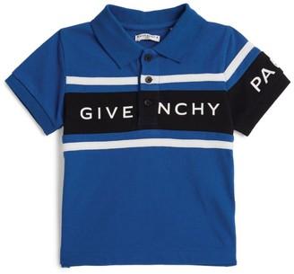 Givenchy Kids Colour-Block Logo Polo Shirt
