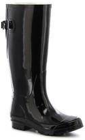 Women's Classic Tall Wide Calf Rain Boots - Black