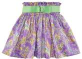 Ralph Lauren Girls' Smocked Floral Skirt - Sizes 7-16