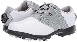 Foot Joy Footjoy FootJoy DryJoys (White/Black/White) Women's Golf Shoes