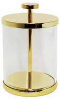Target Home Canister Gold/Glass (Small) - Nate Berkus
