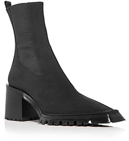 Alexander Wang Women's Parker Square Toe Stretch Chelsea Boots