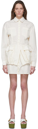 Jacquemus White La Robe Cueillette Dress
