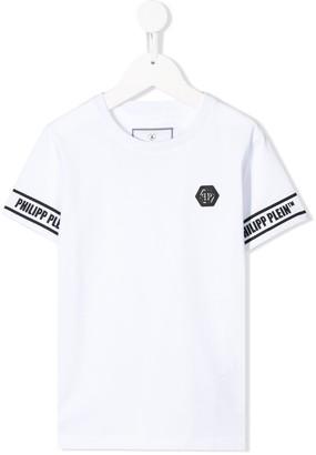 Philipp Plein round neck logo T-shirt