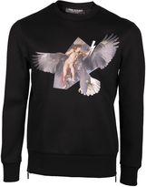 Neil Barrett Eagle Print Sweater