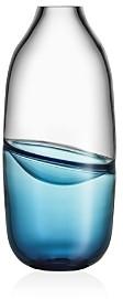 Kosta Boda Septum Blue Vase