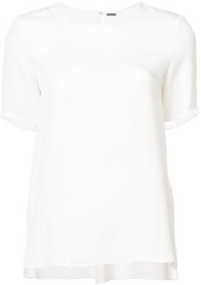 ADAM by Adam Lippes pleated-back T-shirt
