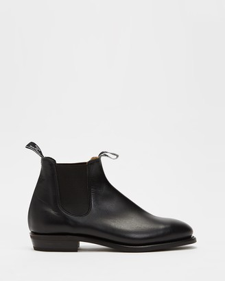 R.M. Williams R.M.Williams - Women's Black Chelsea Boots - Womens Adelaide Boots Rubber Sole - Size 5 at The Iconic