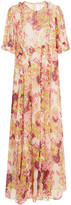 By Ti Mo Bytimo byTiMo Floral-Print Jersey Maxi Dress