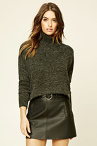 Forever 21 FOREVER 21+ Contemporary Turtleneck Sweater