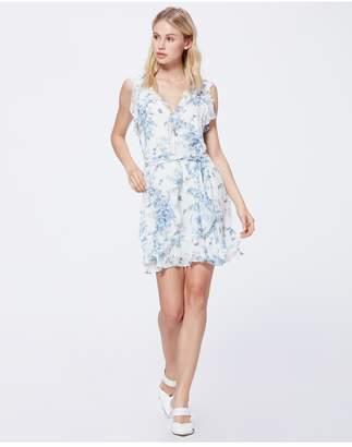 Paige Tia Dress - Ice Blue Tropical Toile