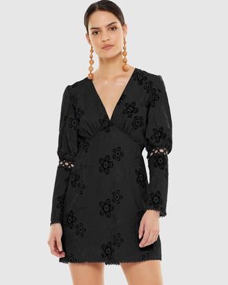 Talulah Hue Long Sleeve Mini Dress