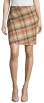 Carven Printed Above The Knee Skirt
