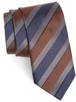 Canali Men's Stripe Silk Tie