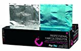 Color Trak Colortrak Double Popup Professional Highlighting Foil, Blue and Silver, 400 Count, 1.2 Pounds
