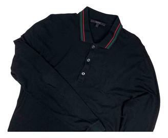 Gucci Black Cotton Polo shirts