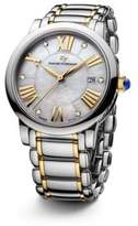 David Yurman Classic 38MM Stainless Steel Quartz Watch with 18K Gold and Diamonds