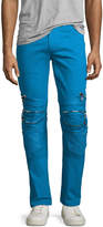God's Masterful Children Vibrante Skinny Moto Jeans